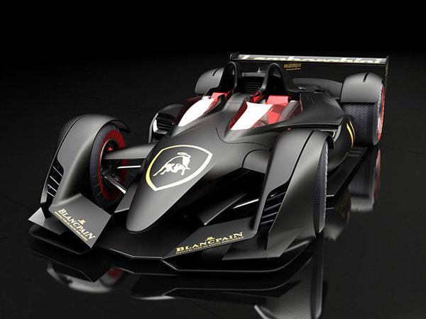 Lamborghini PML-F Formula 1 Concept: incroyable!