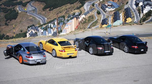 Future Porsche 911 GT3 : les protos prennent de la hauteur