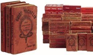Une vieille collection de guides Michelin à 25000euros