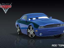 """Cars 2 :Rod """"Torque"""" Redline, l'étrange espion Muscle Car"""