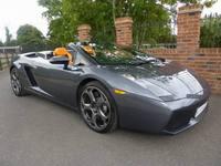 A vendre : Lamborghini Gallardo Spyder, ex-Jeremy Clarkson