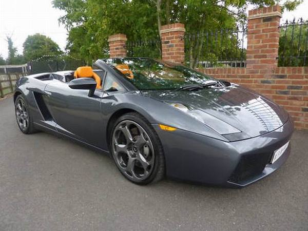 a vendre lamborghini gallardo spyder ex jeremy clarkson. Black Bedroom Furniture Sets. Home Design Ideas
