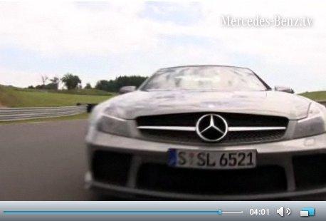 Vidéo : Bernd Shneider en Mercedes SL65 AMG Black Series