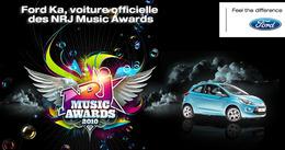 Le véhicule officiel des NRJ Music Awards : la citadine Ford Ka