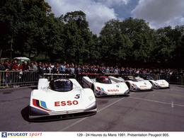 La Peugeot 905 de nouveau engagée en compétition!