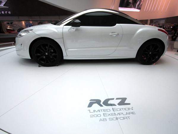 Peugeot RCZ Limited Edition : livraison VIP sur le circuit HTTT Paul Ricard