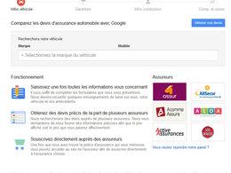 Google lance son comparateur d'assurances