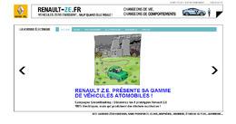 Renault critiqué pour la promotion verte de ses véhicules électriques