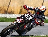 Supermotard 2011 championnat d'Italie, round 4 : Adrien Chareyre et la malédiction de Busca.
