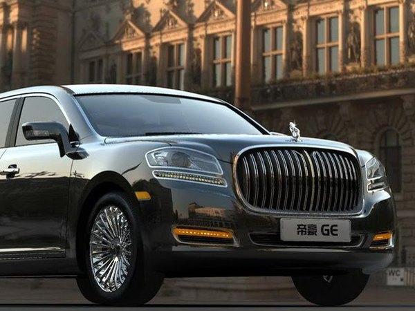 Pekin 2010 : Geely revoit sa limousine, clone de Rolls Royce