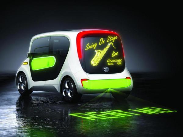 Genève 2011 : Edag Light Car Sharing concept, ampoule mobile