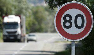 Le gouvernement aurait validé le passage à 80 km/h au lieu de 90 pour 2018