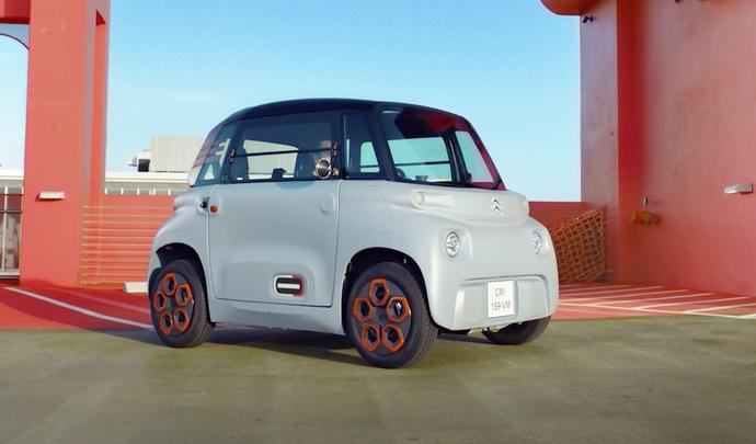 Autobest 2020: la Citroën Ami récompensée