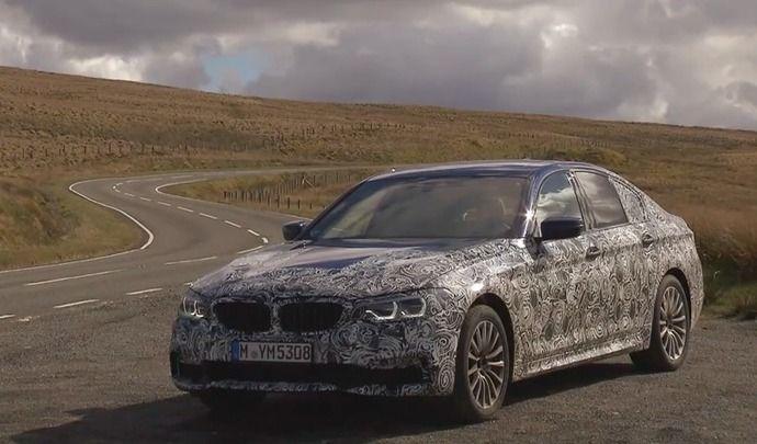 BMW: la nouvelle Série 5 sera dévoilée jeudi