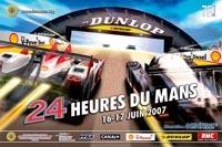 Affiche officielle des 24 Heures 2007: les diesels à l'honneur...