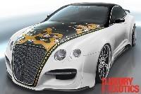 SEMA Show 2008: une Bentley qui fait peur...