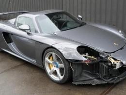A vendre : Porsche Carrera GT, prévoir quelques réparations