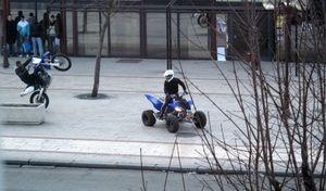 """Une proposition de loi contre les """"rodéos urbains"""""""