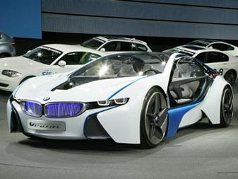 La BMW i8 en détail