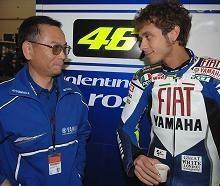 Moto GP - Yamaha: Masao Furusawa fait de Rossi sa priorité