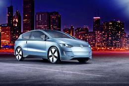 Salon de Los Angeles 2009 : le Concept de break hybride Volkswagen Up! Lite