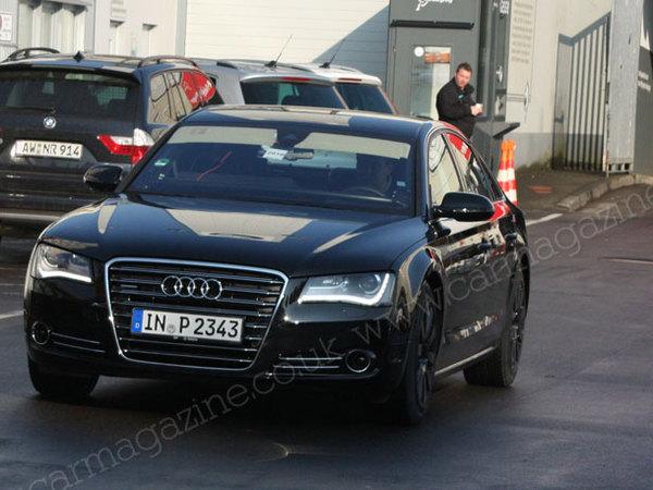 Un V10 de 620 ch pour la future Audi S8