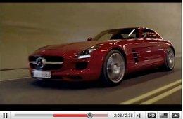 [vidéo] une Mercedes SLS AMG se retourne ...