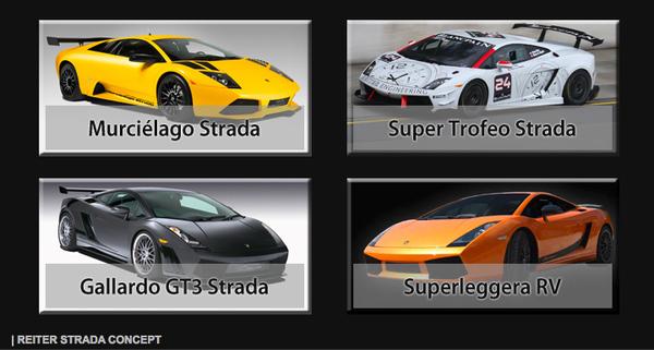 Lamborghini Strada par Reiter Engineering: Une gamme complète