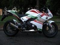 Préparation : Honda CBR 600 F Superbike par Latitude 96