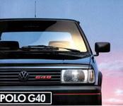 La p'tite sportive du lundi: VW Polo G40.