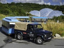 Land Rover teste son Defender électrique