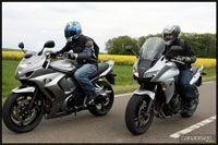 Suzuki GSX 1250 FA vs Honda CBF 1000 : faire du grand avec du petit