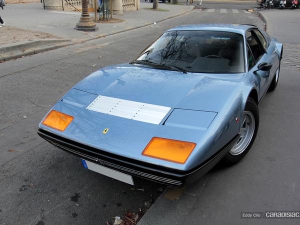Photos du jour : Ferrari 365 GT4 Berlinetta Boxer