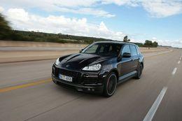 Porsche Cayenne TechArt : 321 km/h !