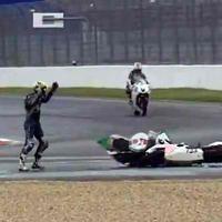 Insolite: Quand les motos s'enlacent les pilotes se lassent