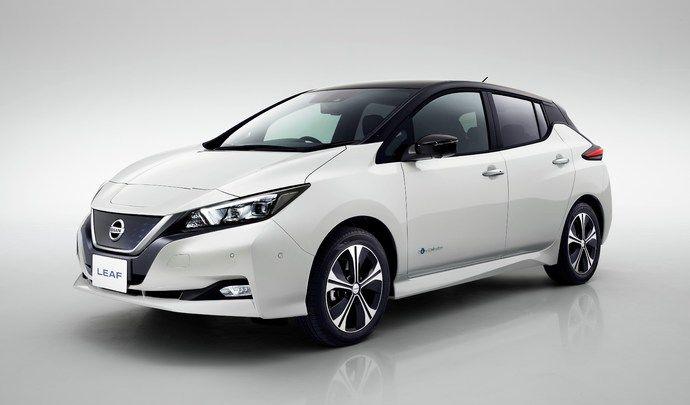 Nouvelle Nissan Leaf: prix à partir de 33900€ hors bonus