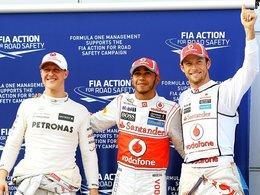 F1 Malaisie - la grille : les McLaren récidivent, Schumi confirme