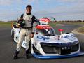 Les essais de Soheil Ayari - MissionH24, la voiture à hydrogène du Mans