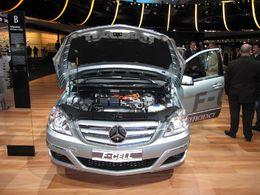 La production de la Mercedes-Benz classe B F-CELL à l'hydrogène a débuté