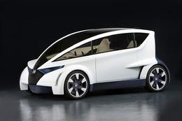Zoom sur le Concept de coupé urbain Honda P-NUT