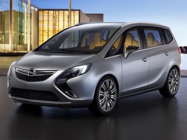 Genève 2011 : Opel Zafira Concept, de plus près