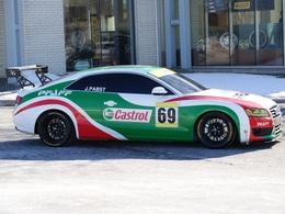 Une Audi A5 en compétition, au Canada