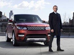 James Bond a une Aston mais plus de Range Rover