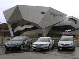Exposition universelle de Shanghai 2010 : les véhicules électriques et hybrides de  Volkswagen
