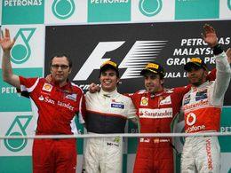 F1 - GP de Malaisie : Alonso et Perez font briller Ferrari