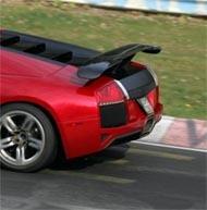La future Lamborghini Murcielago Superleggera surprise en tests!