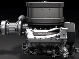 F1 - La musique du V6 1,6 litre TH, par Mercedes