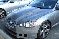 Future Jaguar XF-R: nue en pleine nature