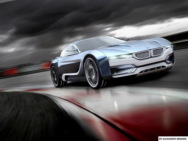 BMW M3i Concept: pour rivaliser avec une Nissan GT-R...
