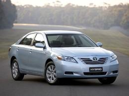 La version hybride de la Toyota Camry assemblée en Australie